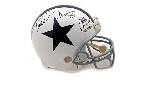 hot sale online 5aad2 fd035 Amazon.com : Terrell Owens Autographed Pro-Line Helmet ...