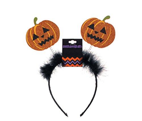 Morris Costumes Headband Pumpkin Bopper - Make Pumpkin Head Costume