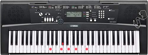 Yamaha EZ Series EZ220 with power supply included 61-Key Portable Keyboard (Renewed)