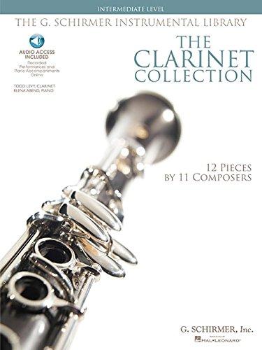 The Clarinet Collection Bk/Audio Intermediate Level G. Schirmer Instr Library by G. Schirmer