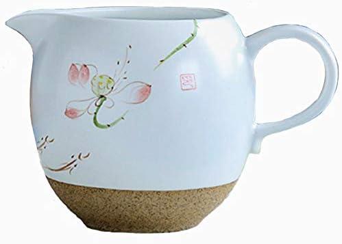 Jarra de cerámica para servir café de 6 onzas, jarra de leche con ...