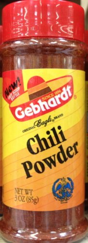 Gebhardt CHILI POWDER 3oz (9 Pack) by Gebhardt