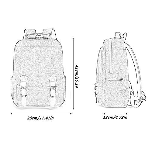 d41d98edc38c Reichlixin Laptop Water Repellent Backpack, Outdoor Travel Large Capacity  Lightweight Knapsack, Men's and Women's College High School Student Bag, ...