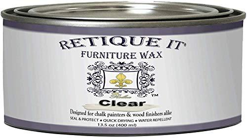 Retique It Furniture Wax Polish - Clear Wax (13.5oz)
