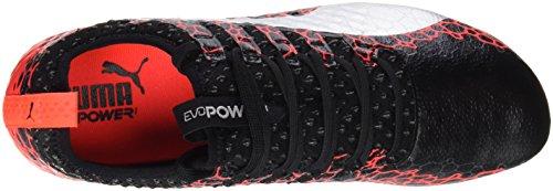 Chaussures Puma Homme EU Coral Football Rouge Graphic FG Evopower Noir silver 46 Noir 5 fiery de 1 Vigor Black wrnfXq8rF