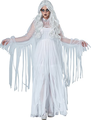 California Costumes Women's Ghostly Spirit, White Medium ()