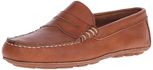 Allen Edmonds Men's Daytona Slip-On Loafer, Teak Fargo, 8.5 D US
