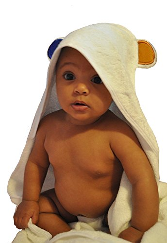 "y Bath Towel - Luxurious Hypoallergenic Organic Bamboo Fibers with Double Stitched Hood for Support - Oversized 35""x 35"" Designed for Both Growing Boys and Girls (Cancer Kids Hoodie)"