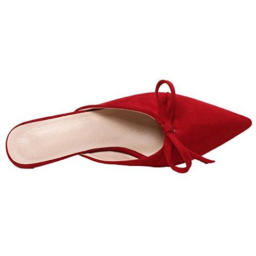 Mules Femme Mules Rouge Rouge JYshoes Femme JYshoes JYshoes 5PxzTYS