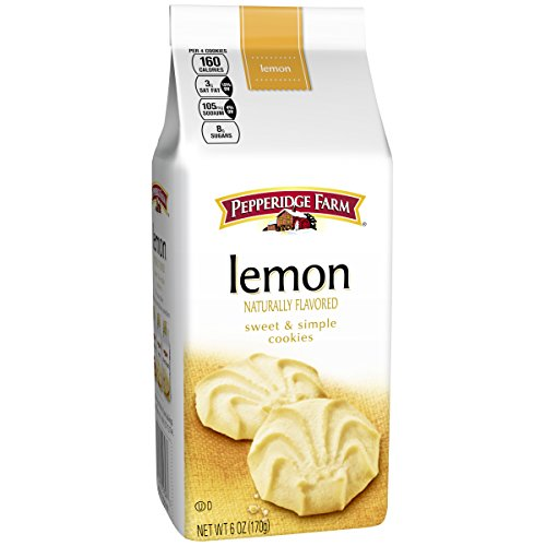 (Pepperidge Farm, Cookies, Lemon, 6 oz, Bag)