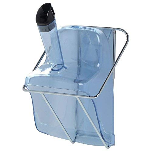 (Rubbermaid ProServe? Blue Plastic Ice Scoop With Hand Guard and Holder - 12