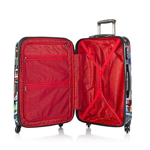 Heys Fernando Volken Togni -FVT- USA 3-piece Spinner Luggage Set(Black)