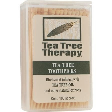 - Tea Tree Therapy - Tea Tree & Menthol Toothpicks (100 Count) (2-Pack)