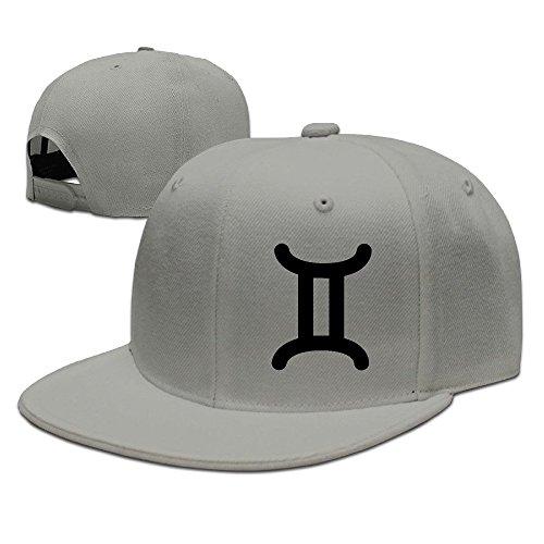 hnn-unisex-gemini-zodiac-sign-symbol-flat-baseball-caps-hats