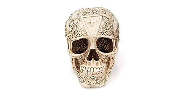 Amazon Com Debricks Vintage Resin Skull Ornaments Halloween