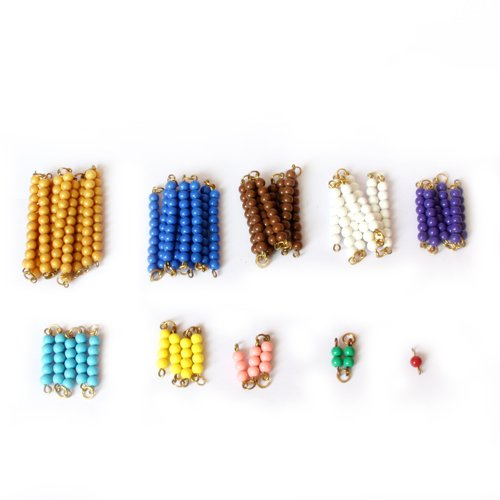 Montessori Short Colored Bead - First Shipping Class International