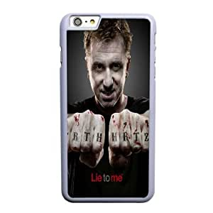 Generic Fashion Hard Back Case Cover Fit for iPhone 6 6S plus 5.5 inch Cell Phone Case white Lie to Me EUI-8481641