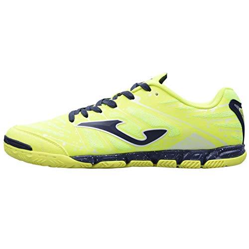 Joma Super Regata Indoor Football Boots Mens Yellow/Navy Sports Footwear (UK6) (EU40) (US7)