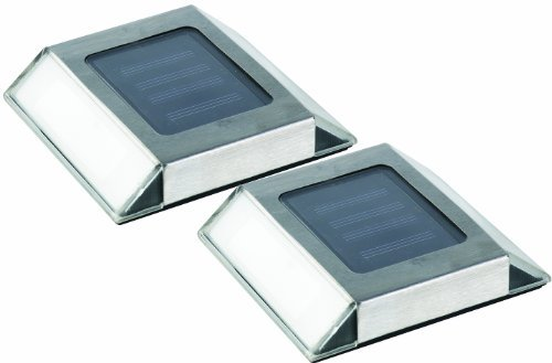 marchio famoso Nature Nature Nature Power 21070 Solar Powered LED Stainless Steel Pathway Lights, by Nature Power  scelta migliore