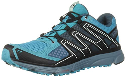 Salomon Women's X-MISSION 3 W Athletic Shoe, bluebird/bluestone/black, 7.5 Standard US Width US (Best Ski Boots For Wide Feet 2019)
