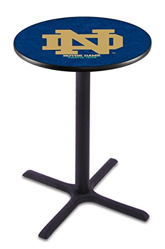 Holland Bar Stool L211B Notre Dame (ND) Officially Licensed Pub Table, 28