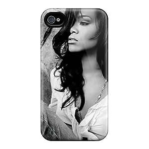Shockproof Hard Phone Case For Iphone 6plus (RyB12700wBhE) Customized Lifelike Rihanna Pattern