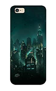 Hot Fuizgv-7387-njcjxtg Case Cover Protector For Iphone 6 Plus- Bioshock Night Rapture Cities Game / Special Gift For Lovers