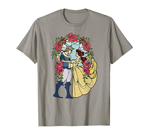 Disney Beauty And The Beast Stained Glass T-shirt]()