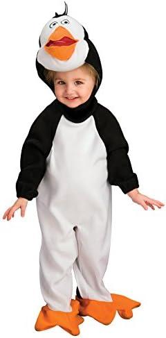 Madagascar disfraz de pingüino Rico recién nacido: Amazon.es: Hogar