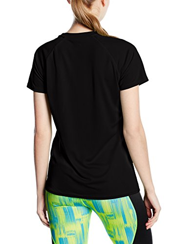 Fruit of the Loom, Camiseta para Mujer Negro (Black)