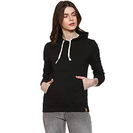 Campus Sutra Full Sleeve Solid Women Casual Sweatshirt