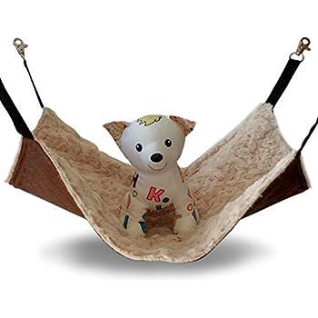 JOYELF Cat Hammock Bed Pet Cage Hammock, Hanging Soft Pet Bed for Kitten Ferret Puppy or Small Pet