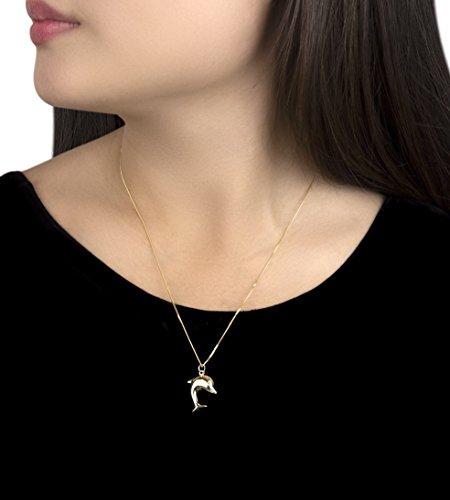 Carissima Gold Collar de mujer con oro amarillo de 9 quilates (375/1000), 46 cm Carissima Gold Collar de mujer con oro amarillo de 9 quilates (375/1000), 46 cm Carissima Gold Collar de mujer con oro amarillo de 9 quilates (375/1000), 46 cm