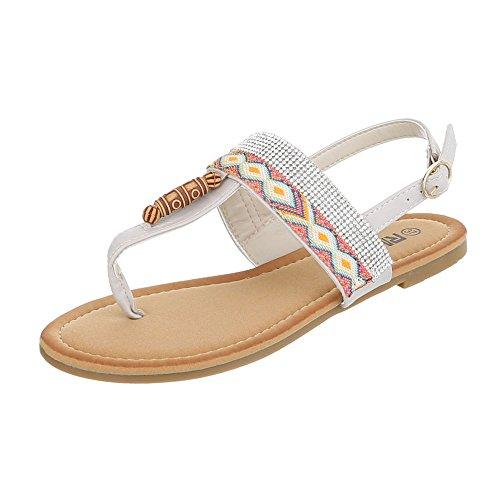 Ital-Design - Zapatos con tacón Mujer Beige