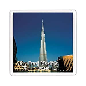 Ajooba Dubai Souvenir Magnet Burj Khalifa 0112