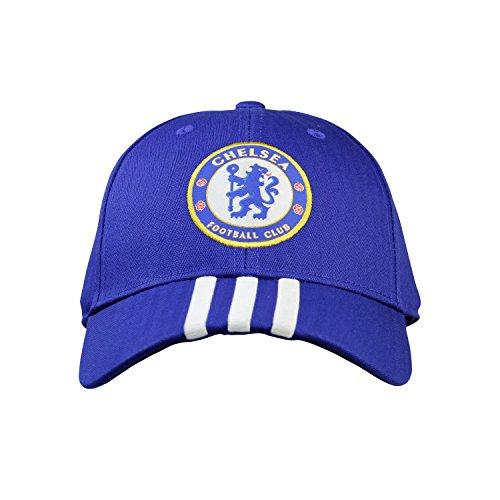 b0e4cee59e4 Adidas Chelsea FC 3-Stripes Cap Soccer Hats - Men - Buy Online in Oman.