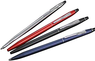 Cross Black and Chrome Click Ballpoint Pen AT0622-102