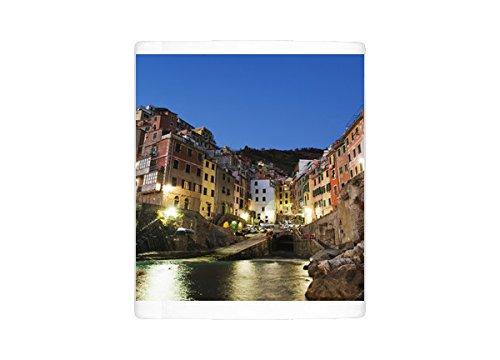 Photo Mug of Clifftop village of Riomaggiore, Cinque Terre, UNESCO World Heritage Site - Clifftop Village