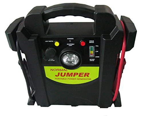 400 Amp Jump Starter 1700 Amp Peak Power 260 PSI Air Comp...