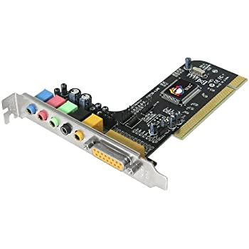 Download Drivers: Rosewill RC-701 5.1 Channel PCI Card CMedia Audio