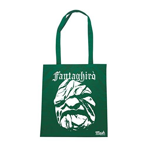 Borsa FANTAGHIRÒ PIETRA TORNA INDIETRO 90S FANTASY - Verde Bottiglia - FILM by Mush Dress Your Style