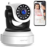 【New Version】 APEMAN WiFi IP Camera 720P Wireless Home Security Surveillance Camera with Night Vision Baby Pet Monitor Motion Detection Two Way Audio