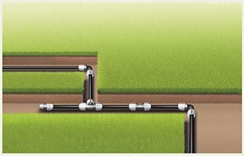 [Gesponsert]Gardena Sprinklersystem Endstück: Verschluss-Stück für Gardena Verlegerohr, Rohrverbindung 25 mm, Quick&Easy Verbindungstechnik, kompatibel mit Gardena Verlegerohre, werkzeuglose Montage (2778-20)