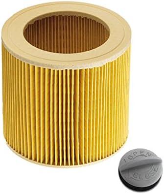 Filtro de cartucho para Kärcher WD2.200 WD3.500 P WD 3.200, WD 3.300 M, WD 3.500 P como 6.414-552.0: Amazon.es: Hogar