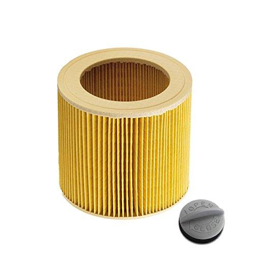 Filtro de cartucho para K/ärcher WD2.200 WD3.500 P WD 3.200 WD 3.300 M WD 3.500 P como 6.414-552.0