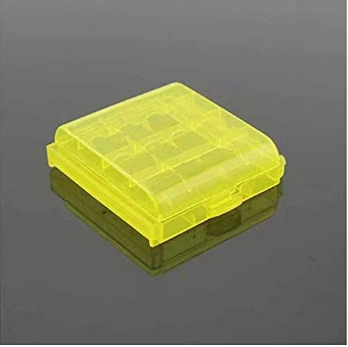 MANGO-4X Caja Plástico Estuches pa AA/AAA Batería Pila Nueva