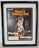 #7: Autographed Penny Hardaway Photo - Anfernee 8x10 Framed Si Cover Penney 16114 - Upper Deck Certified