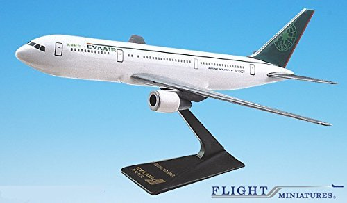 Eva Air 767-300 Airplane Miniature Model