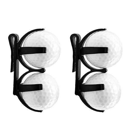 Golf Clip, Aeola Golf Clip Magic Ball Games, Accessory Golf Ball Holder Clip, Black - - Club Headcovers Personalized Golf