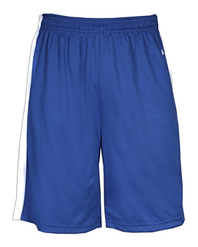 Badger Sport Adult Unisex B-Power Reversible Basketball Shorts 28'W X 9'L Royal